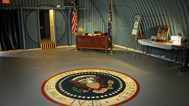 صمم مخبأ كينيدي ليصمد أمام الإشعاعات النووية