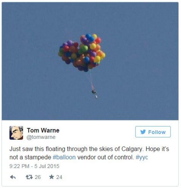Tweet By Calgary Graphic Designer Tom Warne   5 July 2015