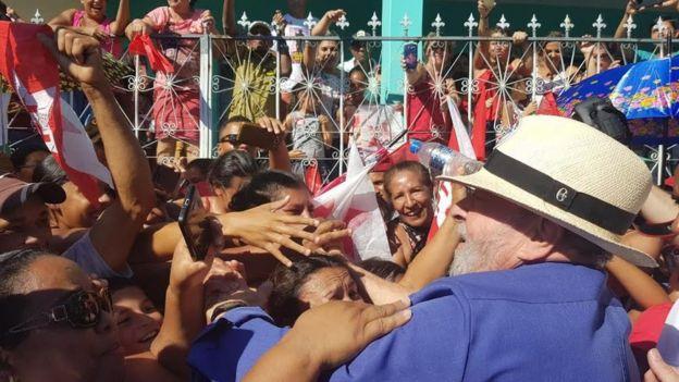 Lula em Itinga (MG)