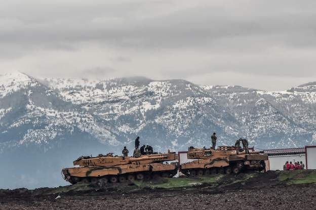 Afrin Zeytin Dalı Harekatı