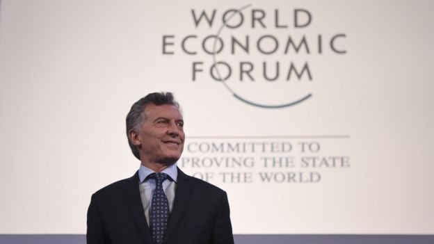 Macri en el World Economic Forum