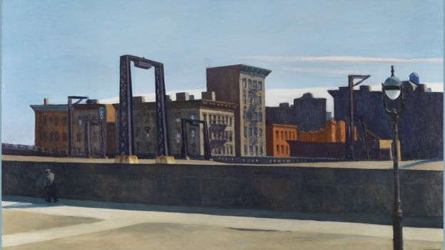 Manhattan Bridge Loop by Edward Hopper