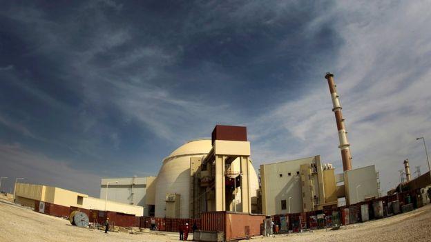 Planta nuclear en Teherán.