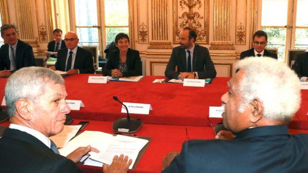 Diálogos sobre Nueva Caledonia en París, el 2 de noviembre de 2017