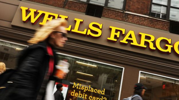 Sucursal del banco Wells Fargo.