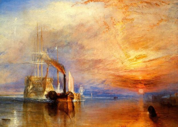 The Fighting Temeraire, de John William Turner