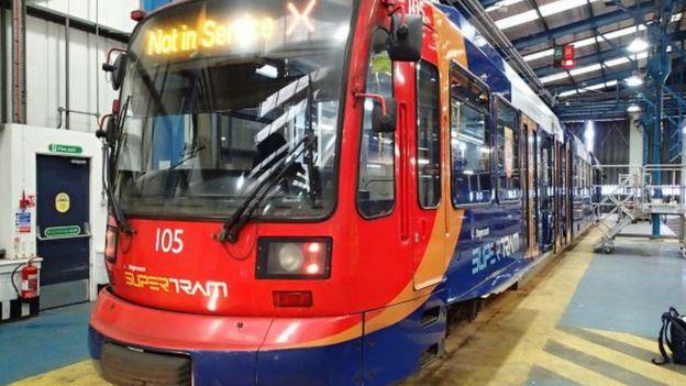 Tram 105