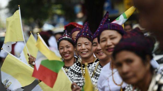 Giáo Hoàng, Myanmar, Rohingya