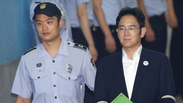 Lee Jae-yong bị kết án tù