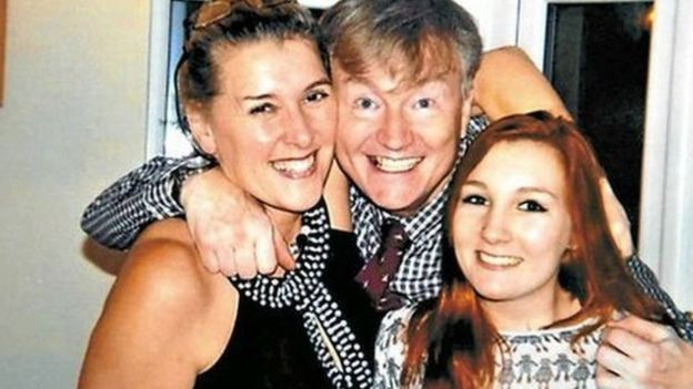 Georgia Williams with parents Steve and Lynnette