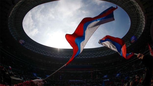 Banderas rusas