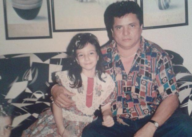 Diana y su padre