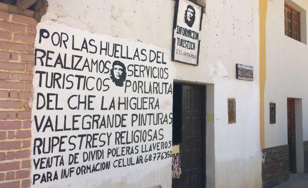 Punto de información turística en Vallegrande