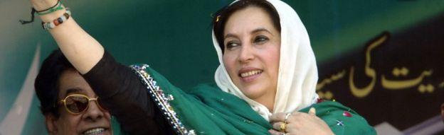 Resultado de imagen para foto benazir bhutto