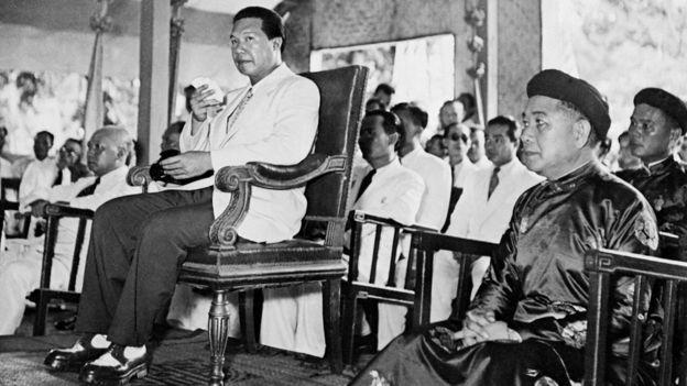 Hình chụp vua Bảo Đại (không rõ ngày) tại Hà Nội. Ông thoái vị tháng 8/1945 và sang sống ở Pháp từ năm 1955.