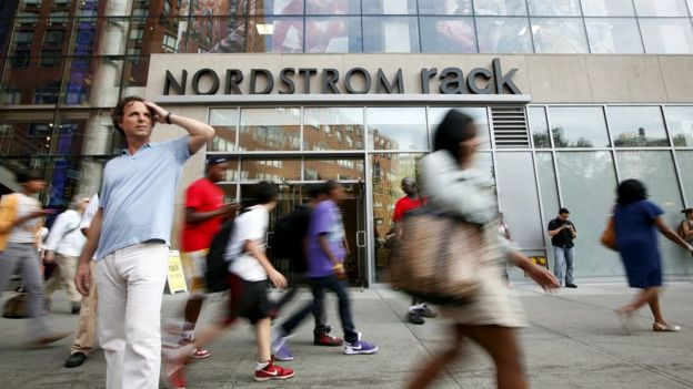 Una tienda de Nordstrom en Nueva York