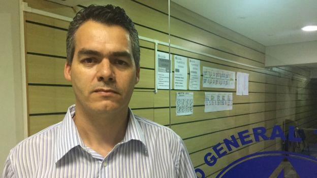 Clodoaldo de Souza, coordenador do Curso General Telles Pires