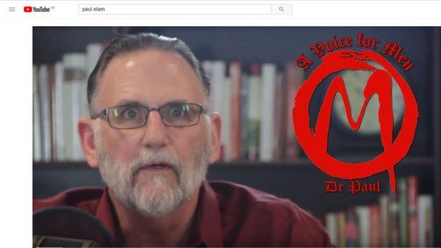 Paul Elam lanza un mensaje en su canal de Youtube.