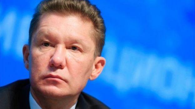 Alexei Miller, người đứng đầu công ty ga khổng lồ Nga cũng trở thành mục tiêu.