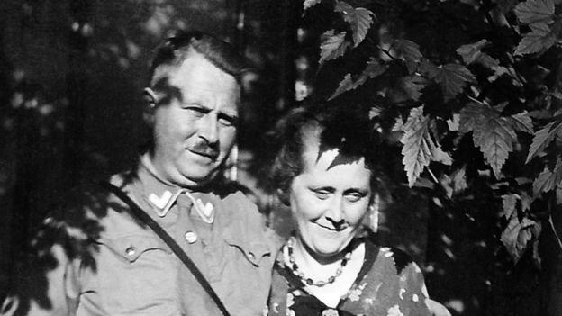 Karl e Minna Niemann em 1933