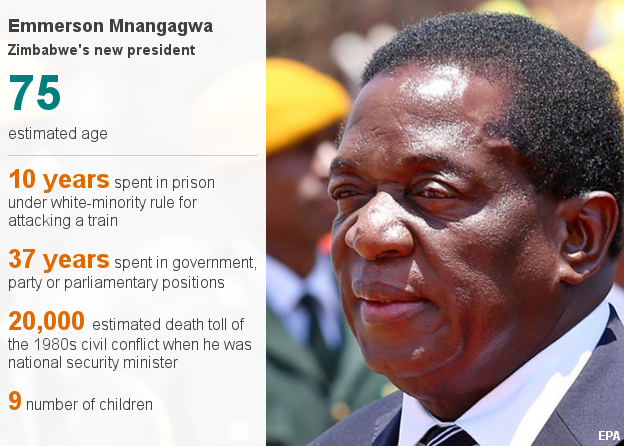 Data pic about Mnangagwa