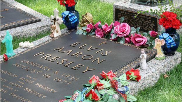 Sepultura de Elvis Presley em Graceland
