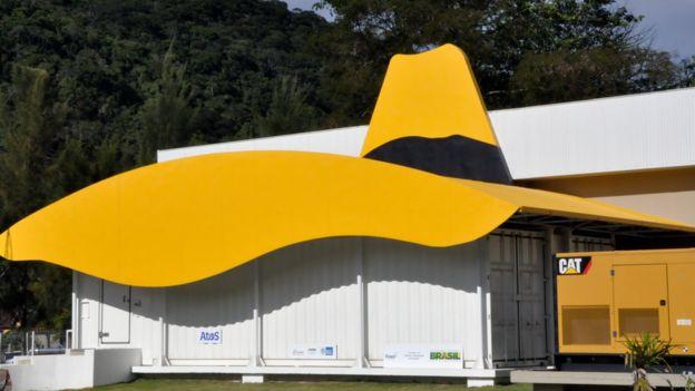 Instalações do supercomputador no LNCC, em Petrópolis