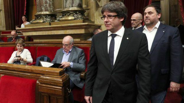 Лидер Каталонии призвал отложить объявление независимости