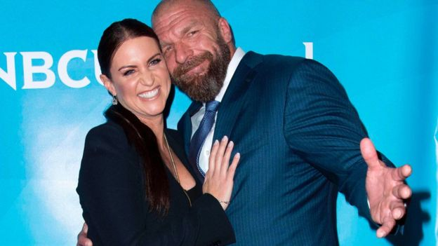"Stephanie McMahon and Paul ""Triple H"" Levesque"