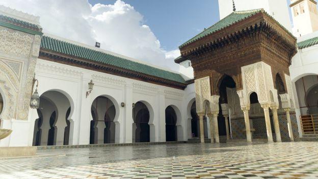 Mezquita de Fez.