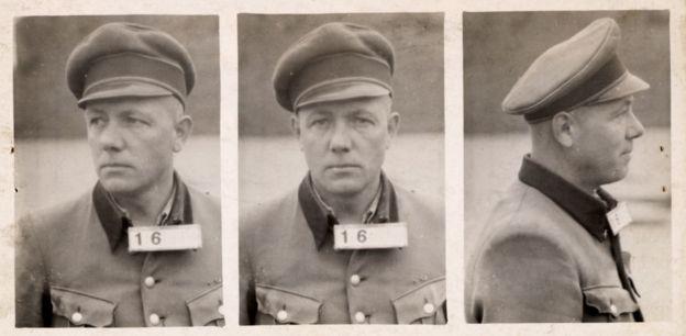 Коммендант лагеря Карл Петер Берг