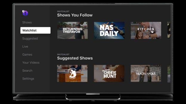 Facebook Watch for television