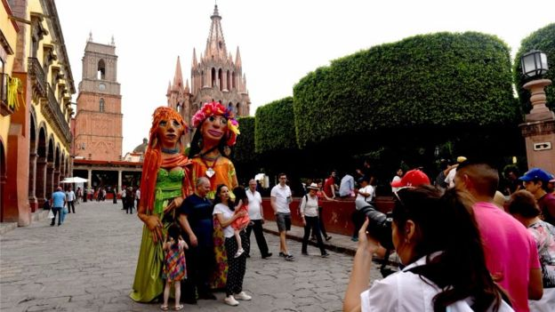 La violencia también llegó a San Miguel de Allende,