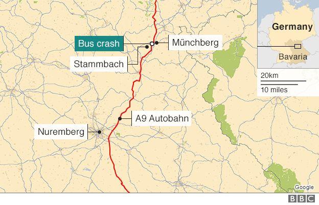 German bus inferno killed 18 in Bavaria, police say – Watch | Club ...
