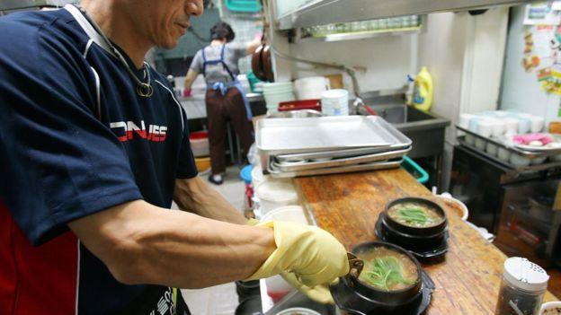 韩国狗肉汤