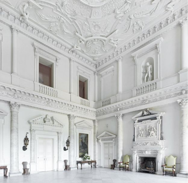 Marble Hall In Clandon Park House