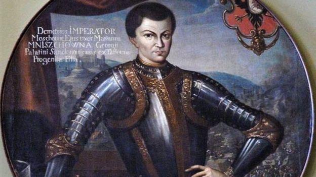 Названый Дмитрий (прижизненный портрет кисти Симона Богушевича)