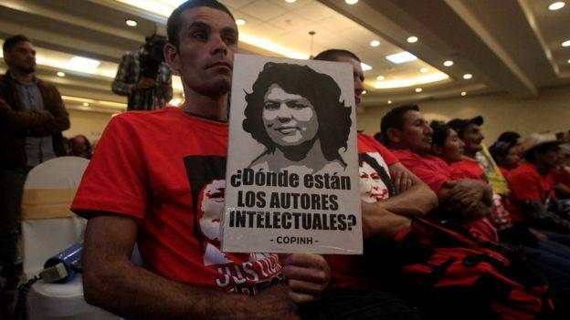 Protesta por Berta Cáceres