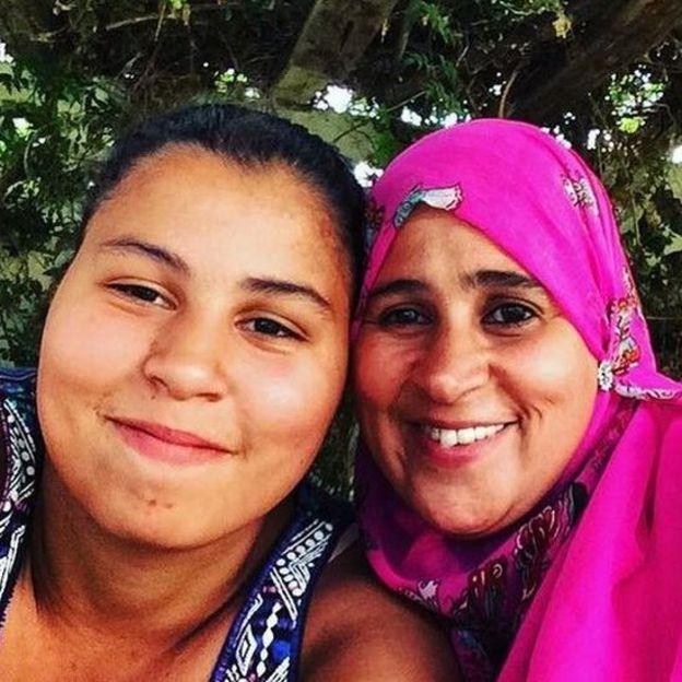 Fouzia and Nur Huda El-wahabi