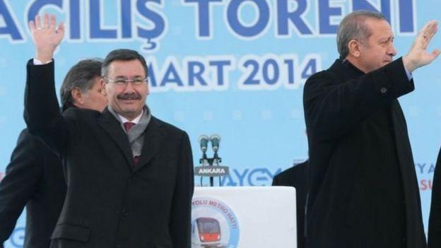 Erdoğan ve Gökçek aynı sahnede