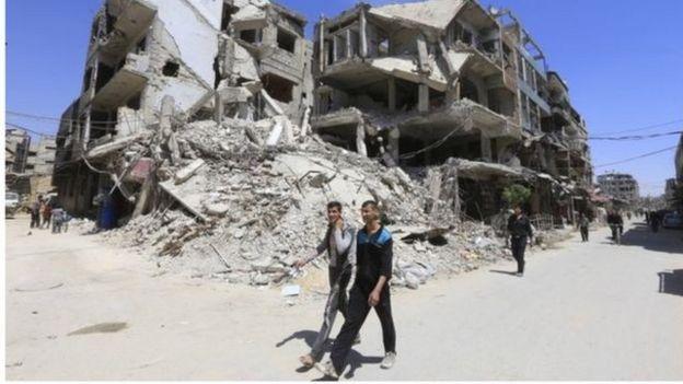 防止化学武器组织(OPCW)的调查人员仍然无法进入叙利亚疑似化武攻击现场。