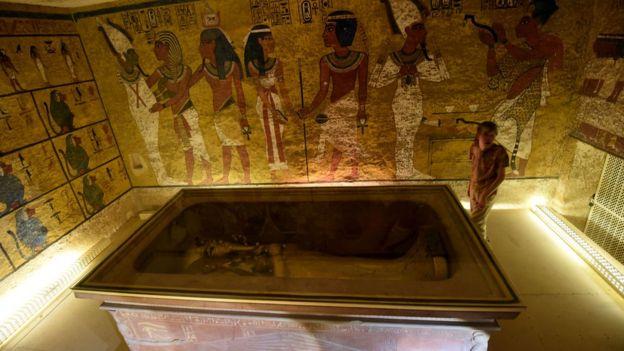 Усыпальница Тутанхамона (современный вид)