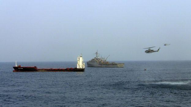 索馬里的海域。
