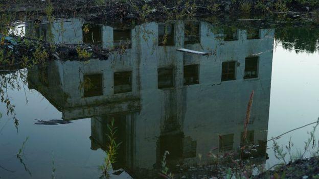 Reflection of Kadykchan mine
