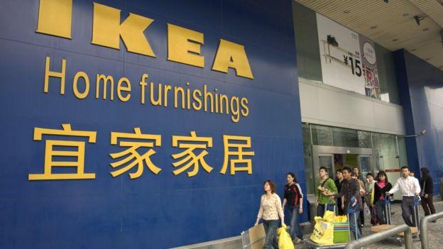 An Ikea store in Beijing in 2005