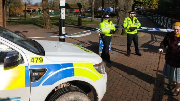 Полицейские в Солсбери