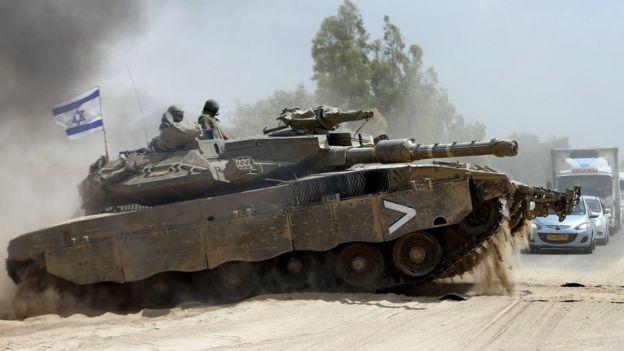 İsrailli Merkava tankları APS sistemini başarıyla kullanıyor