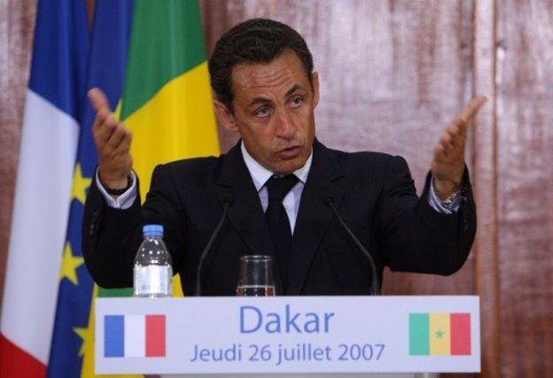L'ancien président français avait déclaré sans détours que