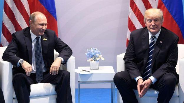 普京和特朗普