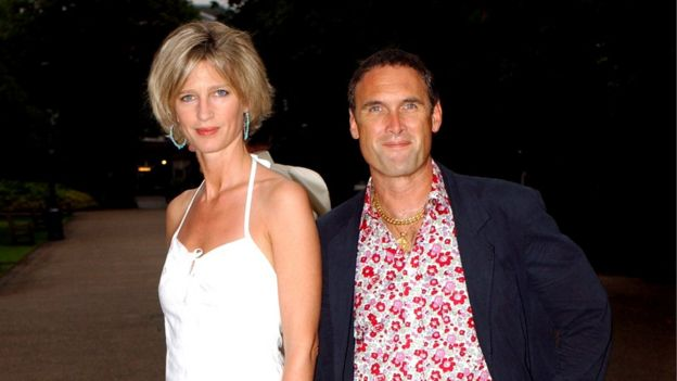 AA Gill, pictured with his partner Nicola Formy
